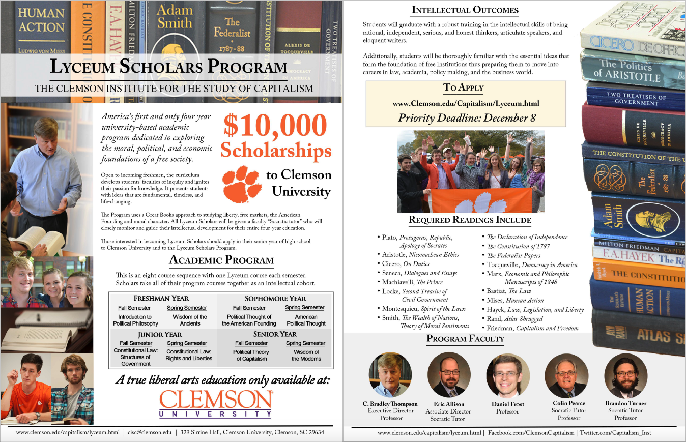 clemson admission essay This is transfer and admissions information for clemson university students can compare college and university transfer information before changing.